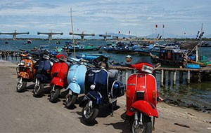 Vespa Tour Morning
